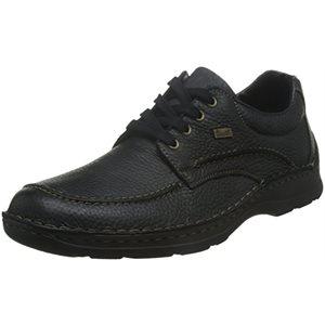 Black Membran Riekertex Lace Shoes