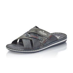 Blue Slip on Sandal 21062-15