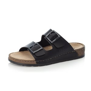 Black Slipper Sandal 25690-01