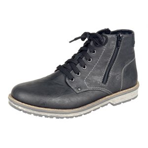 Black Lace Winter Boots 39232-01