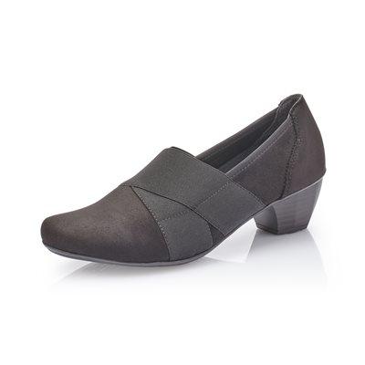 Black Heel Loafer 41772-00