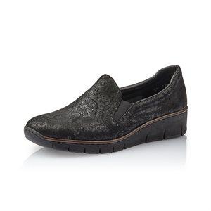 Black loafer 53766-05