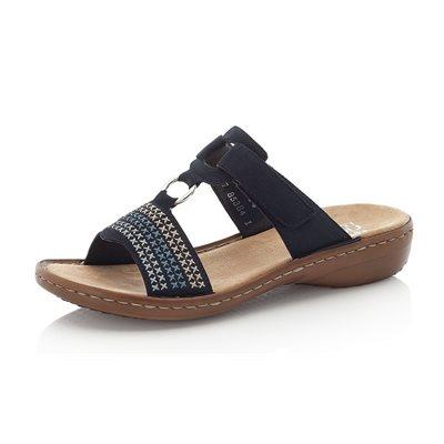 Blue Slipper Sandal 608K8-14