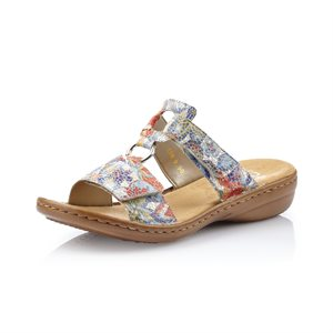 Multi Color Slip on Sandal 608P9-90