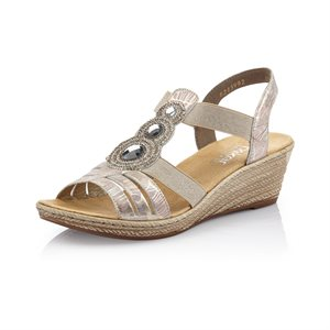 Multi Color Wedge Sandal 62459-92
