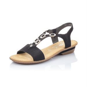 Black Sandal 63453-00