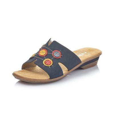 Sandale mule Bleu / Multi 634A0-14