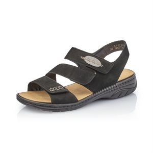 Black Sandal 64573-00