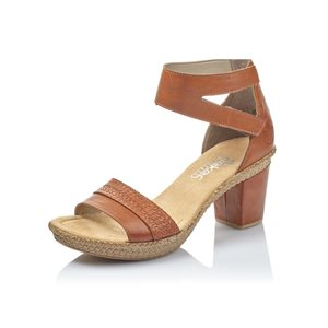 Brown High Heel Sandal 66544-24