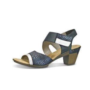 Blue Heel Sandal 67367-90