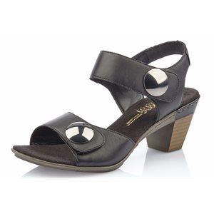 Black Heel Sandal 67369-00