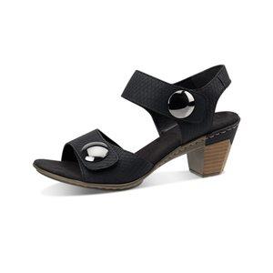 Black Heel Sandal 67369-01