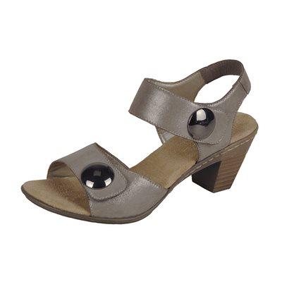 Grey Heel Sandal 67369-42