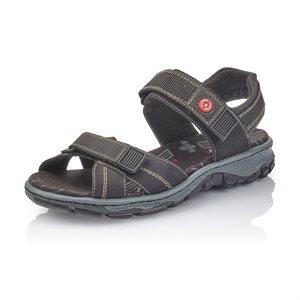 Black Sport Sandal 68851-00