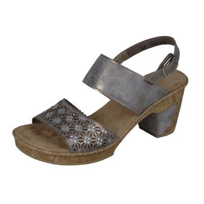 Grey Heel Sandal 69730-40