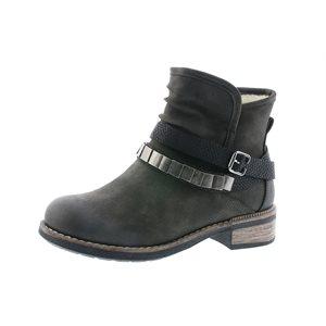 Black Winter Boots 94671-45