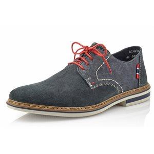 Blue Suede Lace Shoes B1402-14