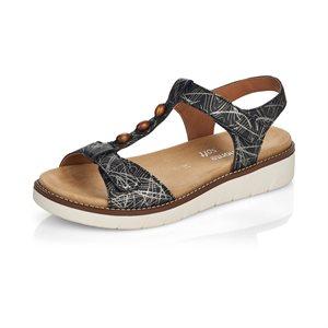 Black Sandal D2062-01