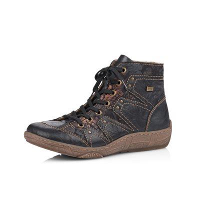 Black Lace Bootie D3893-01