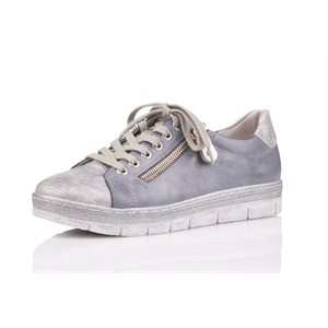 Blue Orthotic Friendly Shoes D5800-13