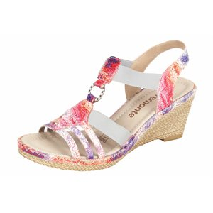 Multi color Wedge Sandal D6768-91