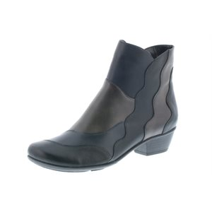 Black Combination Orthotic Friendly Boothies