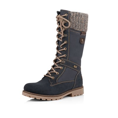Blue Waterproof Winter Boot D7477-14