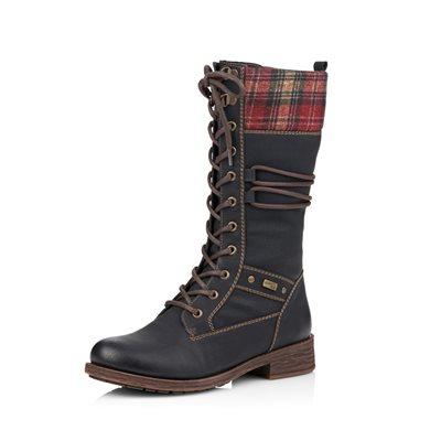 Black Waterproof Winter Boot D8077-01