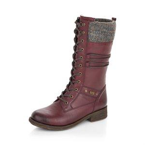 Red Waterproof Winter Boot D8077-35