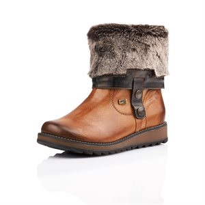Brown Waterproof Winter Boot D8874-24