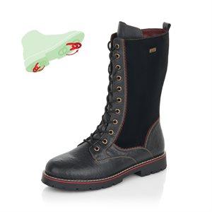 Black Waterproof Winter Boot D9370-02