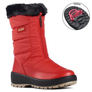 Red Winter Boot Gemma