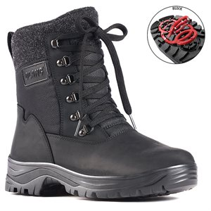 Black boot with pivoting grip Kursk
