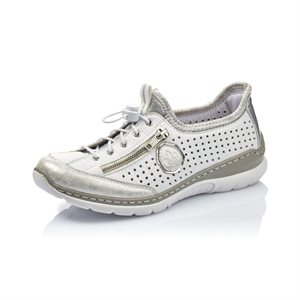 White / Grey Sport Shoe L3296-81