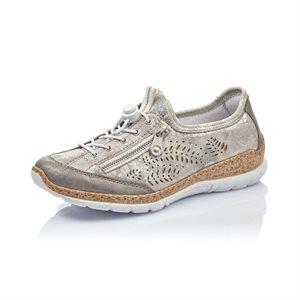 Silver / Pink Sport Shoe N42K6-40