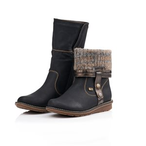Black Waterproof, Winter Boot