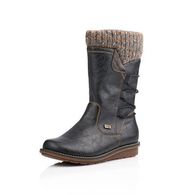 Black Waterproof, Winter Boot R1094-02