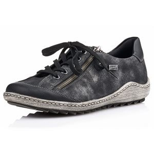 Black Orthotic Friendly Shoes R1402-02