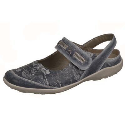 Bleu Orthotic Friendly Shoes