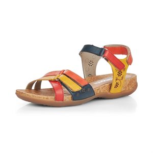 Sandale Rouge / Bleu / Jaune R3269-90