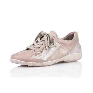 Beige Orthotic Friendly Shoes R3419-81