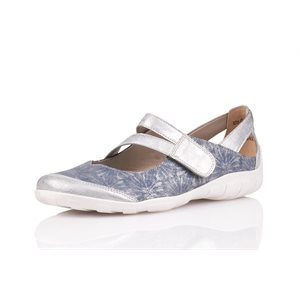 Blue Combo Orthotic Friendly Shoe R3427-12