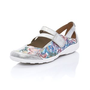 Grey Multi Orthotic Friendly Shoes R3427-92