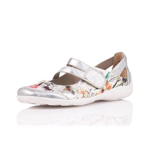 Silver Multi Orthotic Friendly Shoes R3427-93