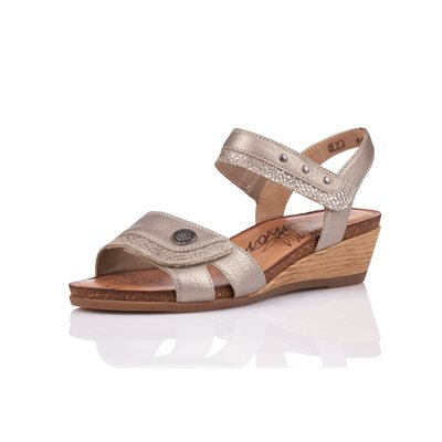 Gold Wedge Sandal R4450-90