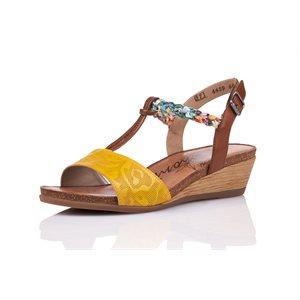 Heel Sandal Yellow Muti R4459-68