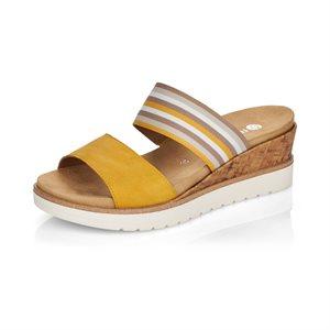 Yellow Slipper Sandal R6154-68