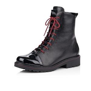 Black Lace Bootie R6574-01