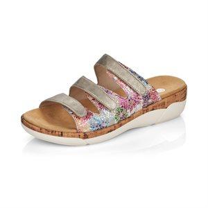 Grey / Multi Slipper Sandal R6851-90