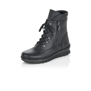 Black Water-resistant Winter Boot R8474-01